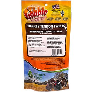 Natures Finest Turkey Tendon Twists