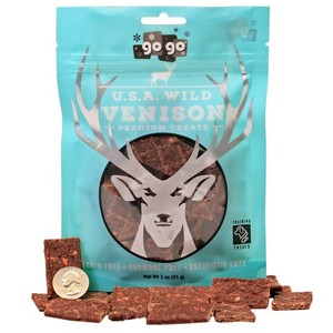 GoGo® 6oz Stressless Venison Jerky Treats