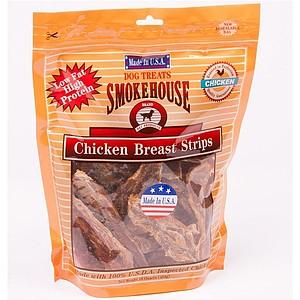 Smokehouse USA Chicken Jerky Breast Strips - 16 oz