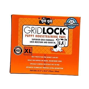 XL Gridlock Puppy Housetraining Pads - 40 ct. pack