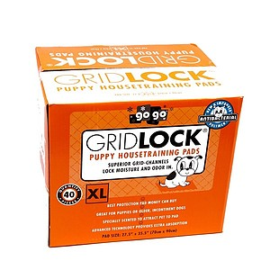 XL Gridlock Puppy Housetraining Pads - 40 ct. pack