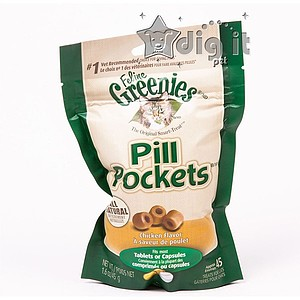 1.6oz Chicken Cat Pill Pockets