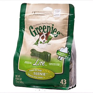 Greenies Teenie Weight Management 12 oz Treat Pack
