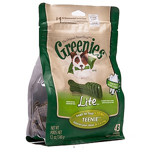Greenies Teenie Weight Management 12 oz Treat Pack