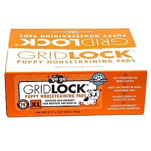 XL Gridlock Puppy Housetraining Pads - 15 pack