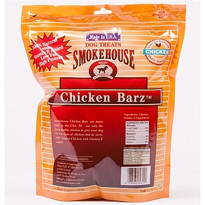 Smokehouse USA Chicken Barz Dog Treats - 16 oz