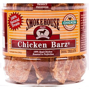 Smokehouse Premium Chicken Barz - 14 oz Canister