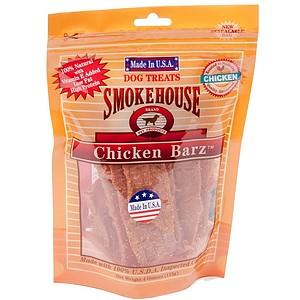 Smokehouse USA Chicken Barz Dog Treats - 4 oz