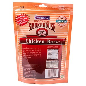 Smokehouse USA Chicken Barz Dog Treats - 8 oz