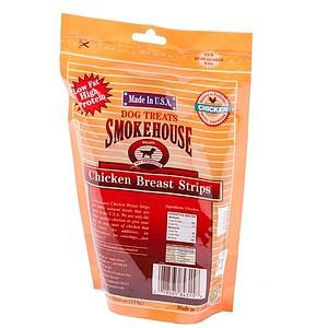 Smokehouse USA Chicken Jerky Breast Strips - 4 oz