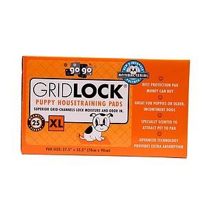XL Gridlock Puppy Housetraining Pads - 25 pack